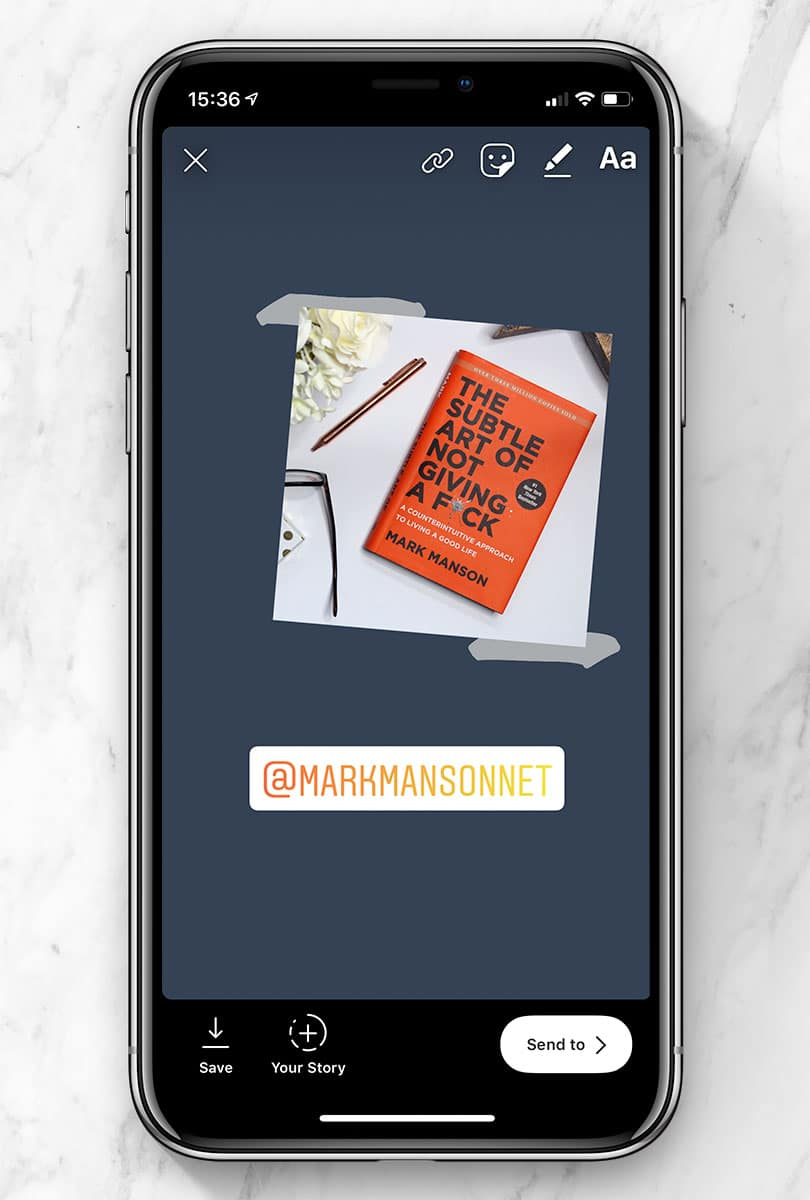 Instagram Stories - Tagging Other People