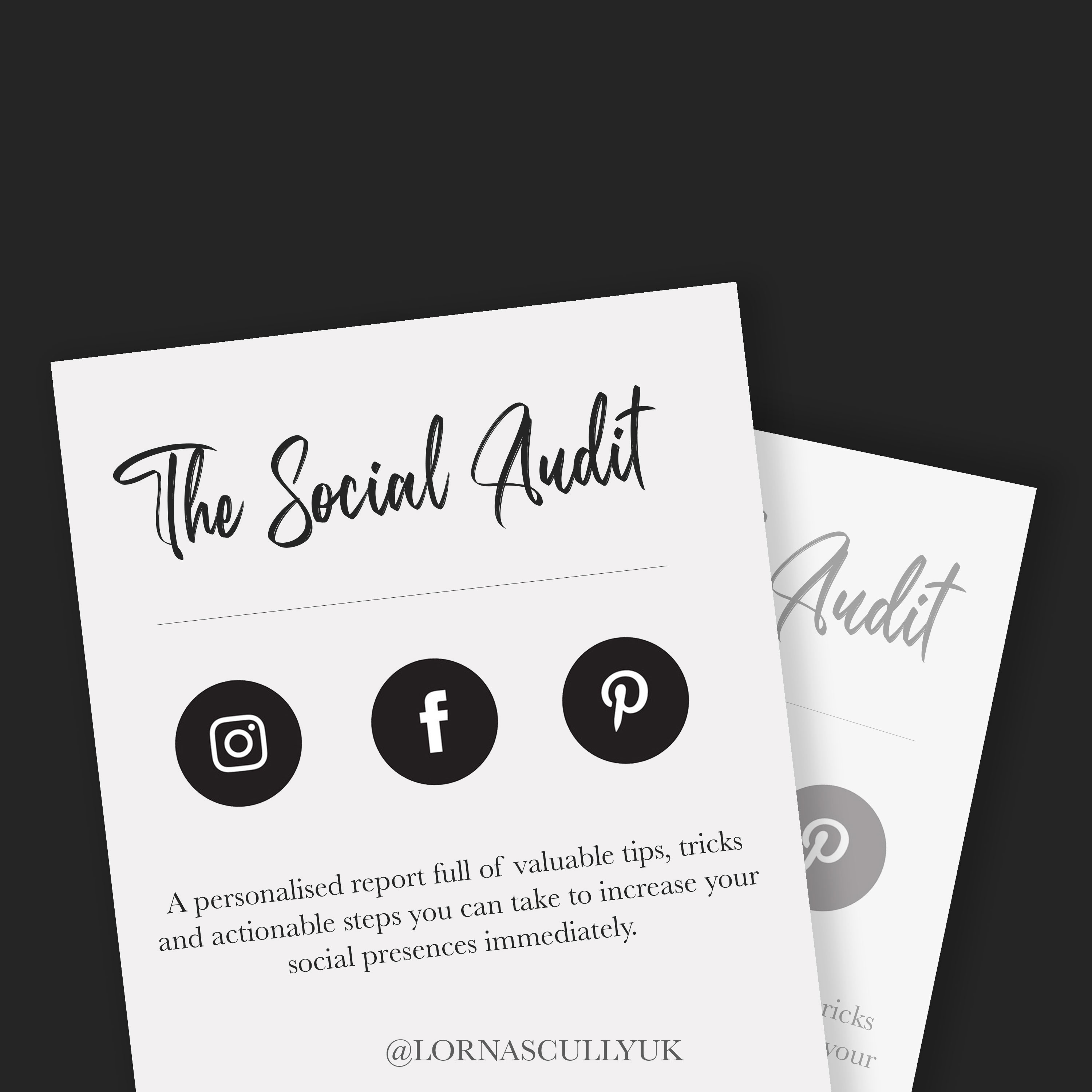 Social Media Audit For Small Businesses - Lorna Scully Digital Marketing Consultant