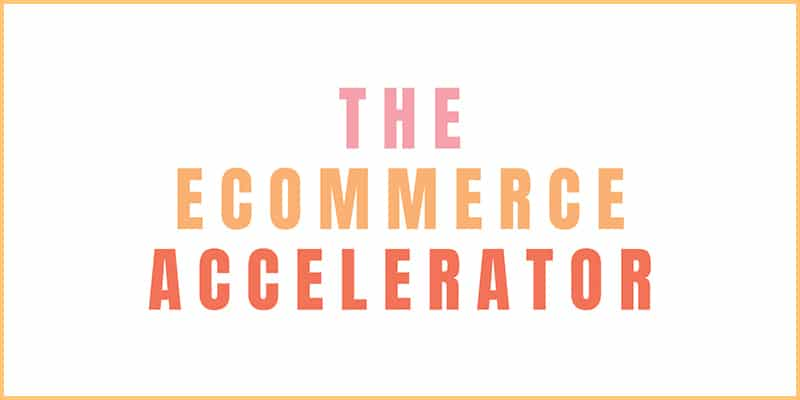 The Ecommerce Accelerator Group Programme and membership by Lorna Scully