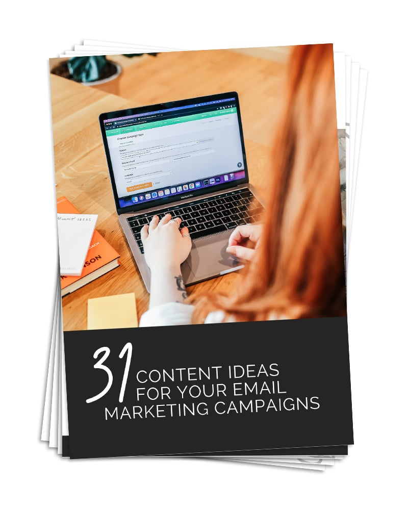 Email Marketing Content Prompts For Small Business Owners FREE Ebook Download - Lorna Scully