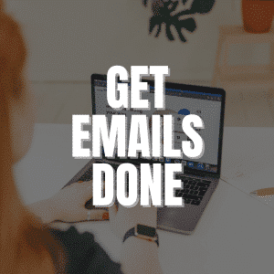 Get Emails Done Accountability Programme by Lorna Scully